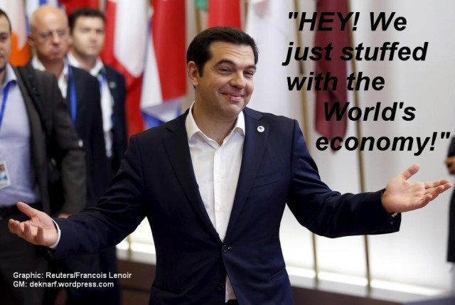 Greece Economy Stuffing