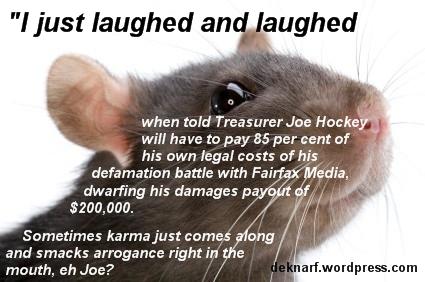 Hockey Karma Rat