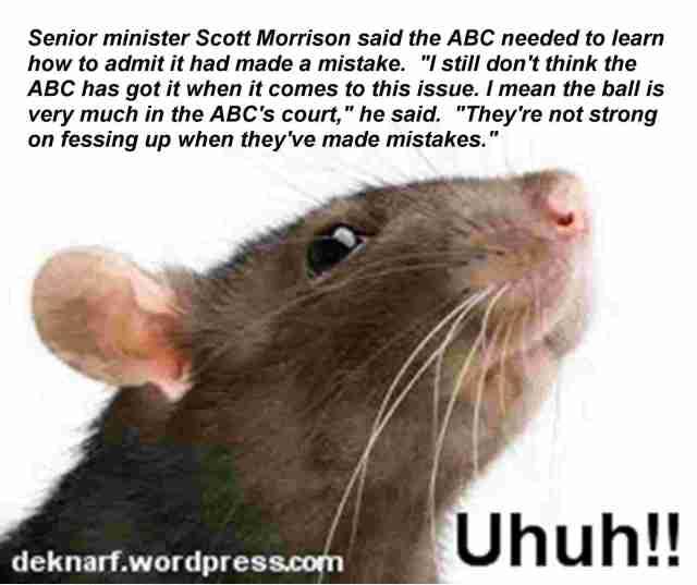 Uhuh Fess Up Rat