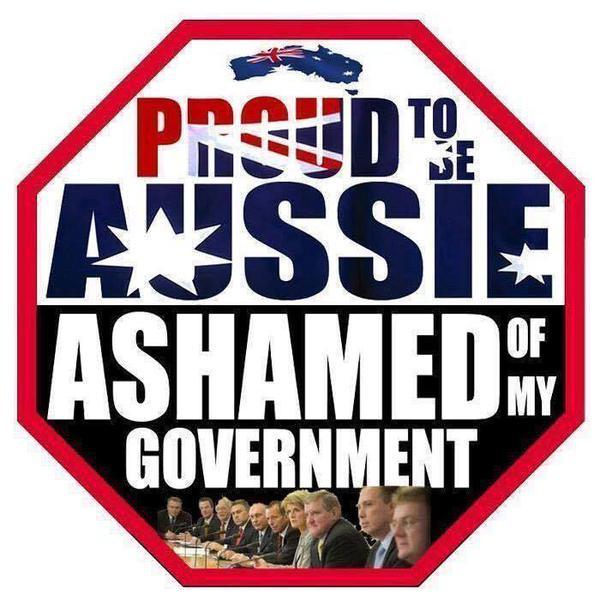 Ashamed of Govt
