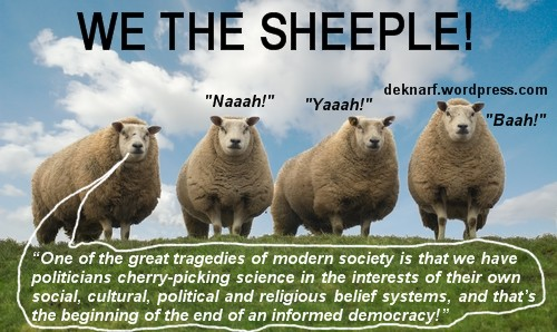 Democracy Sheeple