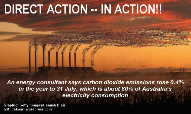 Direct Action Farce