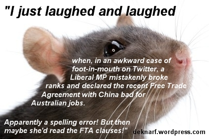 Free Trade Rat