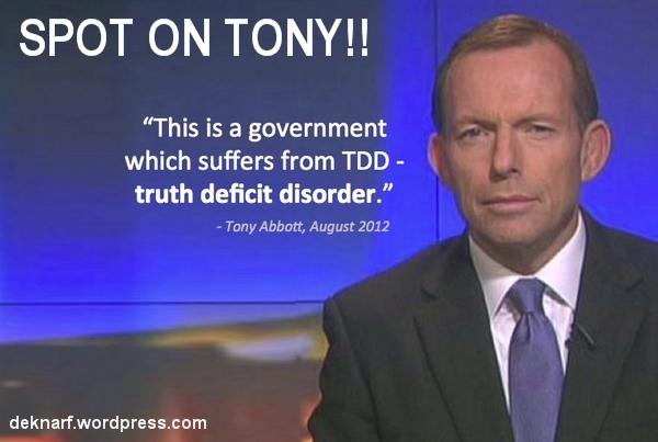 Rabbott Truth Deficit