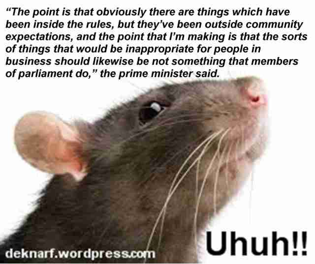 Uhuh Rules Rat