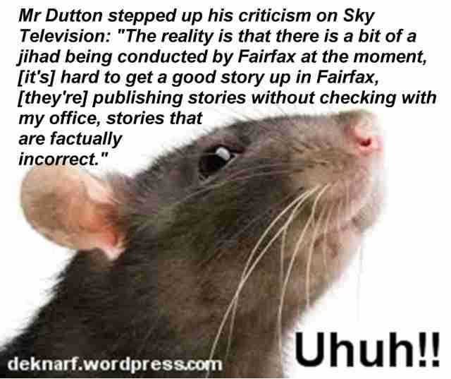 Dutton Uhuh Rat