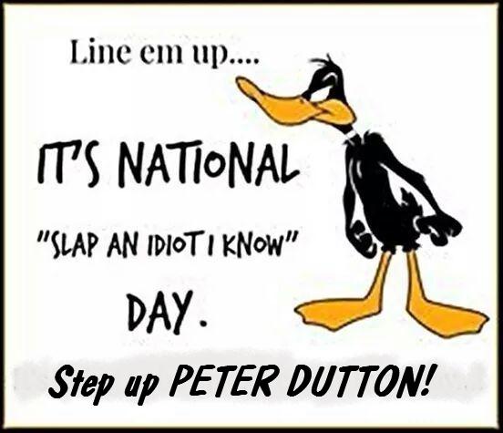 Idiot Slap Dutton