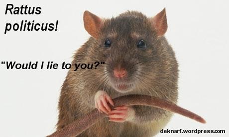 Rattus Politicus Lying 2