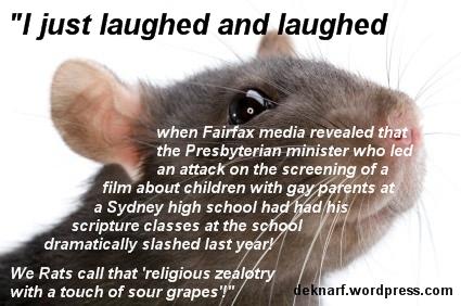 Religious Zealot Rat
