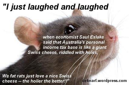 Swiss Cheese Rat