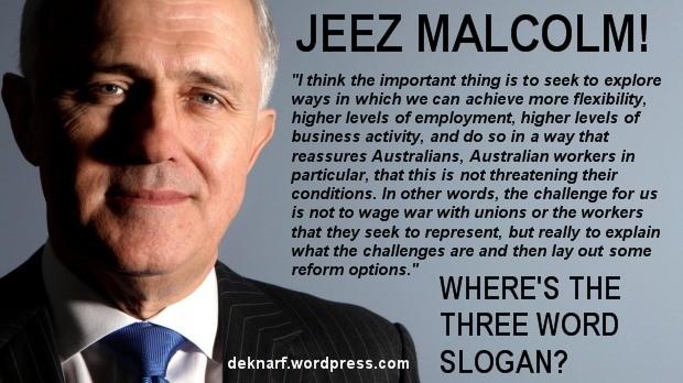 Three Word Malcolm