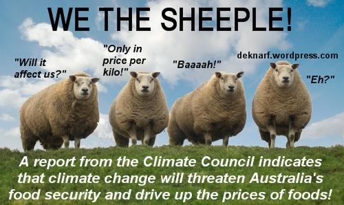 Climate Change Sheeple