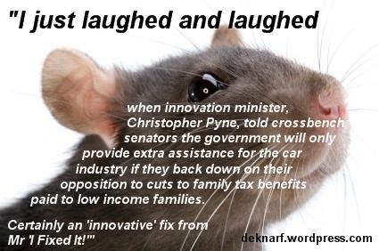Innovation Rat