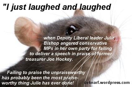 Unplatitudinous Bishop Rat