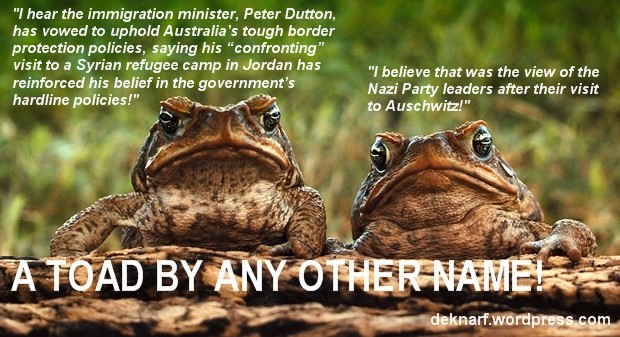 Border Protection Toads
