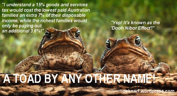 GST Tax Toads