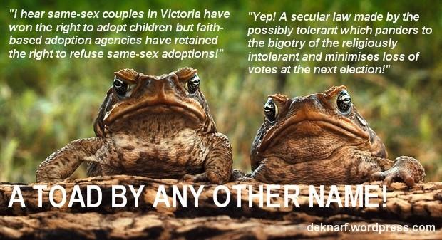 Hypocrisy Toads