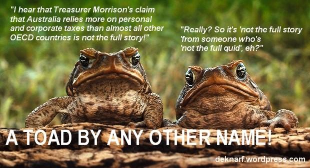 Morrison Tax Toads