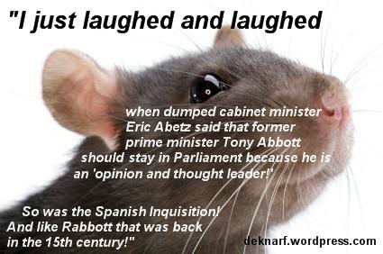 Opinionated Abbott Rat
