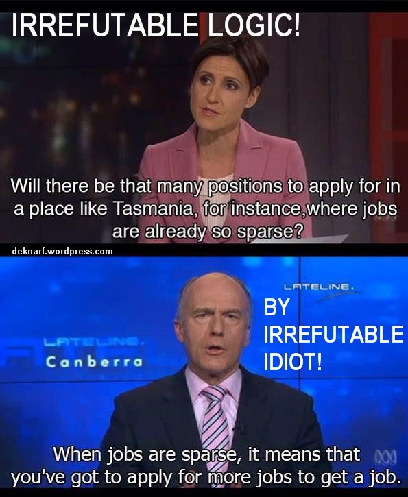 Irrefutable Logic Abetz Feb