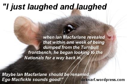 Macfickle Rat