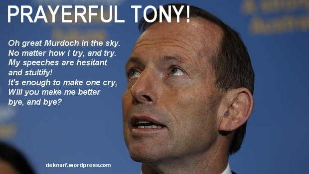 Prayerful Tony 2 Sep