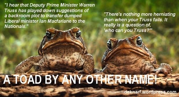 Truss Toads