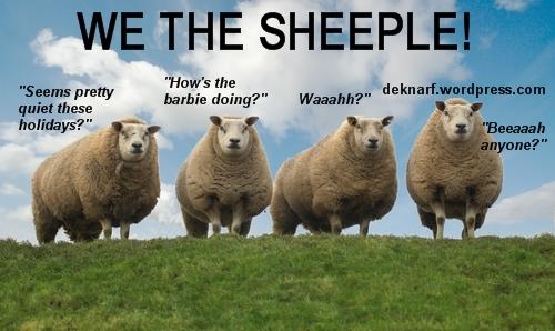 Holiday Sheeple