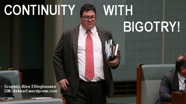 Bigotry Christensen