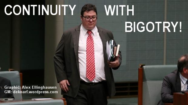 Bigotry Christensen