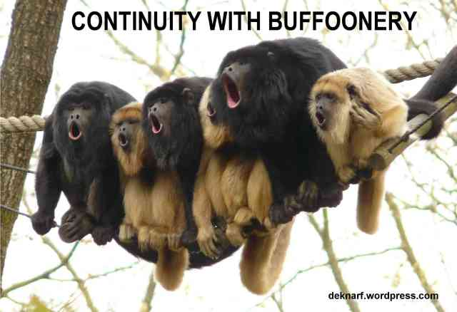 Continuity Buffoon Monkeys