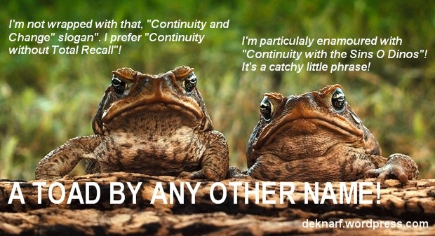 Continuity Toads