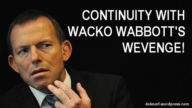 Wacko Wabbotts Wevenge