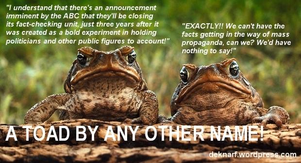 Factcheck Toads