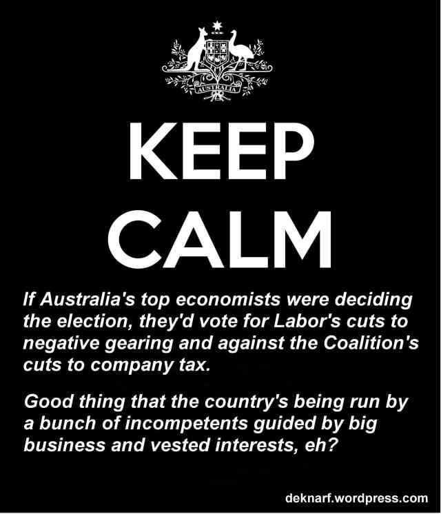 Economic Calmness