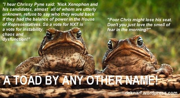 Pyne Toads